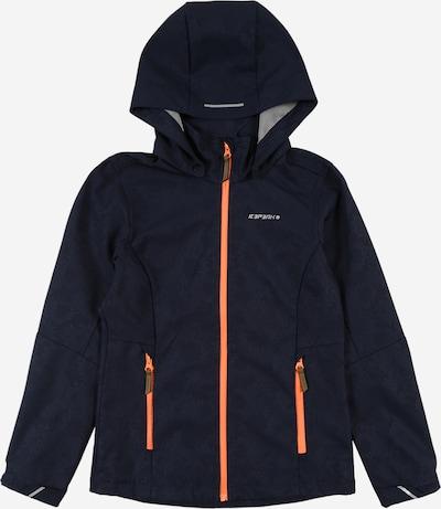 ICEPEAK Outdoorjas in de kleur Donkerblauw, Productweergave