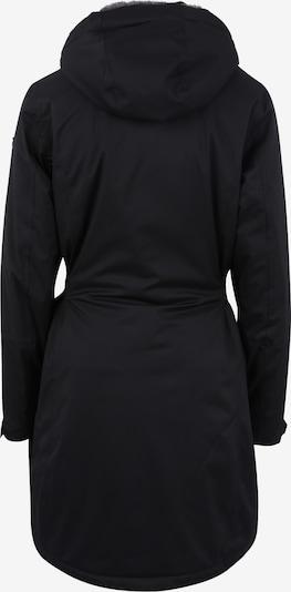 KILLTEC Zunanja jakna 'Alisi' | črna barva: Pogled od zadnje strani