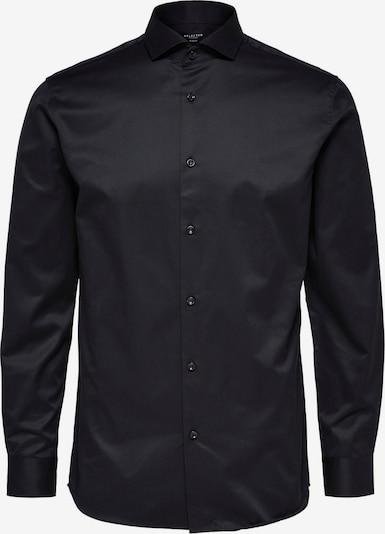 SELECTED HOMME Zakelijk overhemd in de kleur Zwart, Productweergave