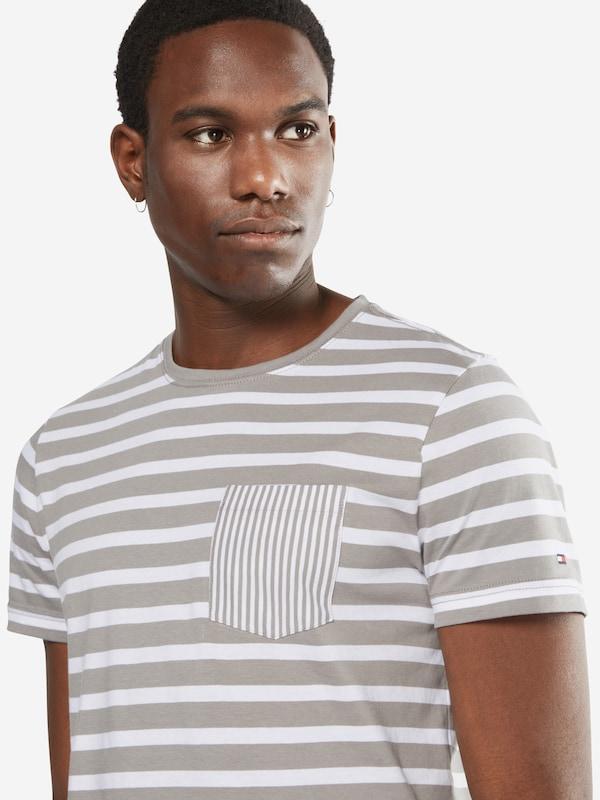 TOMMY HILFIGER T-Shirt mit Ringel-Design 'Pando'