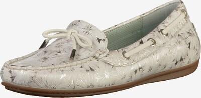 SIOUX Slipper in silber / weiß, Produktansicht