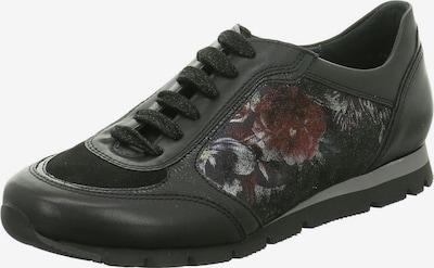 SEMLER Sneaker in dunkelrot / schwarz, Produktansicht