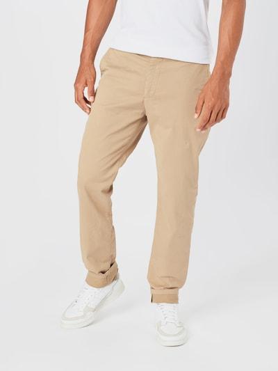 By Garment Makers Pantalon chino en beige: Vue de face