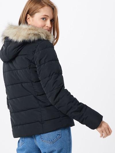 VERO MODA Zimska jakna 'MOLLIE' | črna barva: Pogled od zadnje strani
