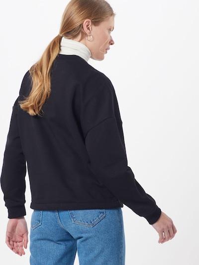 Merchcode Bluzka sportowa w kolorze czarny / białym: Widok od tyłu