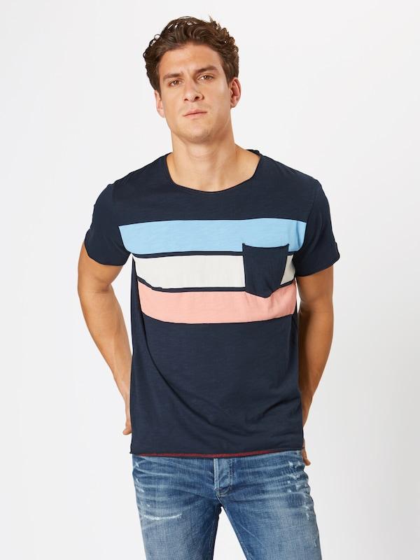 Jackamp; T Jones Bleu En 'bottle' shirt FoncéRose I9EH2YWD