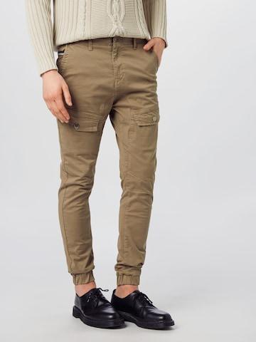 Hailys Men Klapptaskutega püksid 'Patrice', värv pruun