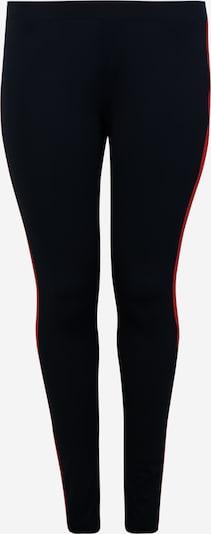 Urban Classics Leggings en azul noche / rojo / blanco, Vista del producto