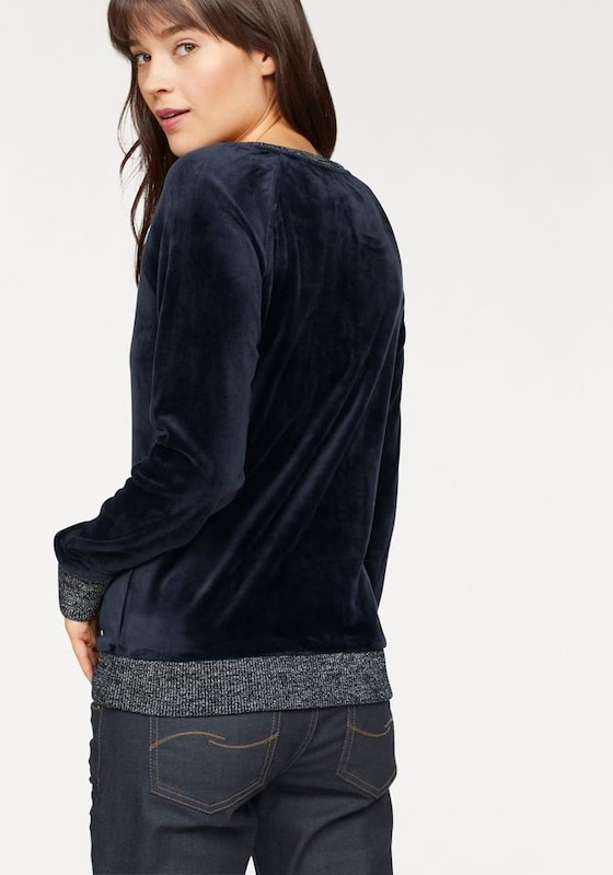 s.Oliver Denim Sweatshirt