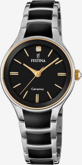 FESTINA Uhr 'F20474/4' in schwarz / silber, Produktansicht