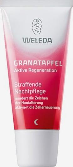 WELEDA 'Granatapfel' Straffende Nachtpflege in rot / weiß, Produktansicht
