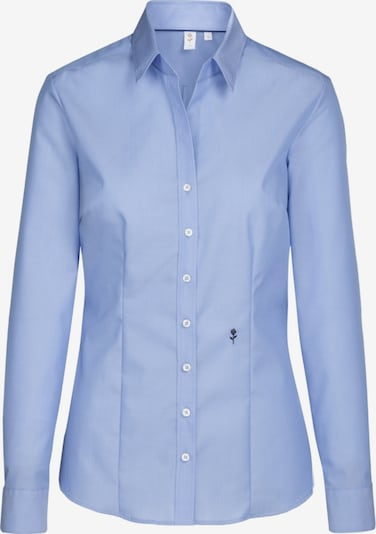 Bluză 'Schwarze Rose' SEIDENSTICKER pe albastru deschis, Vizualizare produs