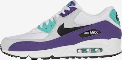 Nike Sportswear Sneakers laag 'Air Max 90 Essential' in de kleur Turquoise / Mauve / Zwart / Wit, Productweergave