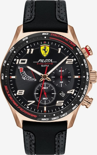 Scuderia Ferrari Uhr »PILOTA EVO« in schwarz, Produktansicht