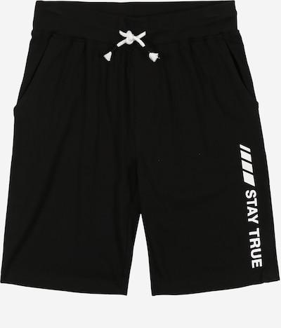 STACCATO Kalhoty - černá: Pohled zepředu