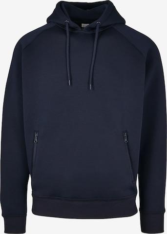 Urban Classics Sweatshirt in Blue
