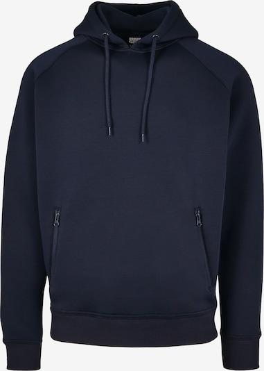 Urban Classics Sweat-shirt en bleu marine, Vue avec produit