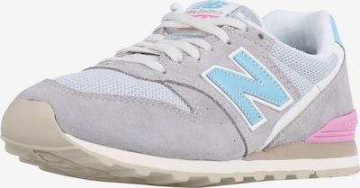 new balance Sneaker 'WL996 B' in hellblau / grau / pink, Produktansicht