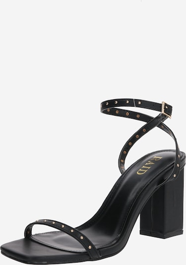 Sandale cu baretă 'ANIELA' Raid pe negru, Vizualizare produs