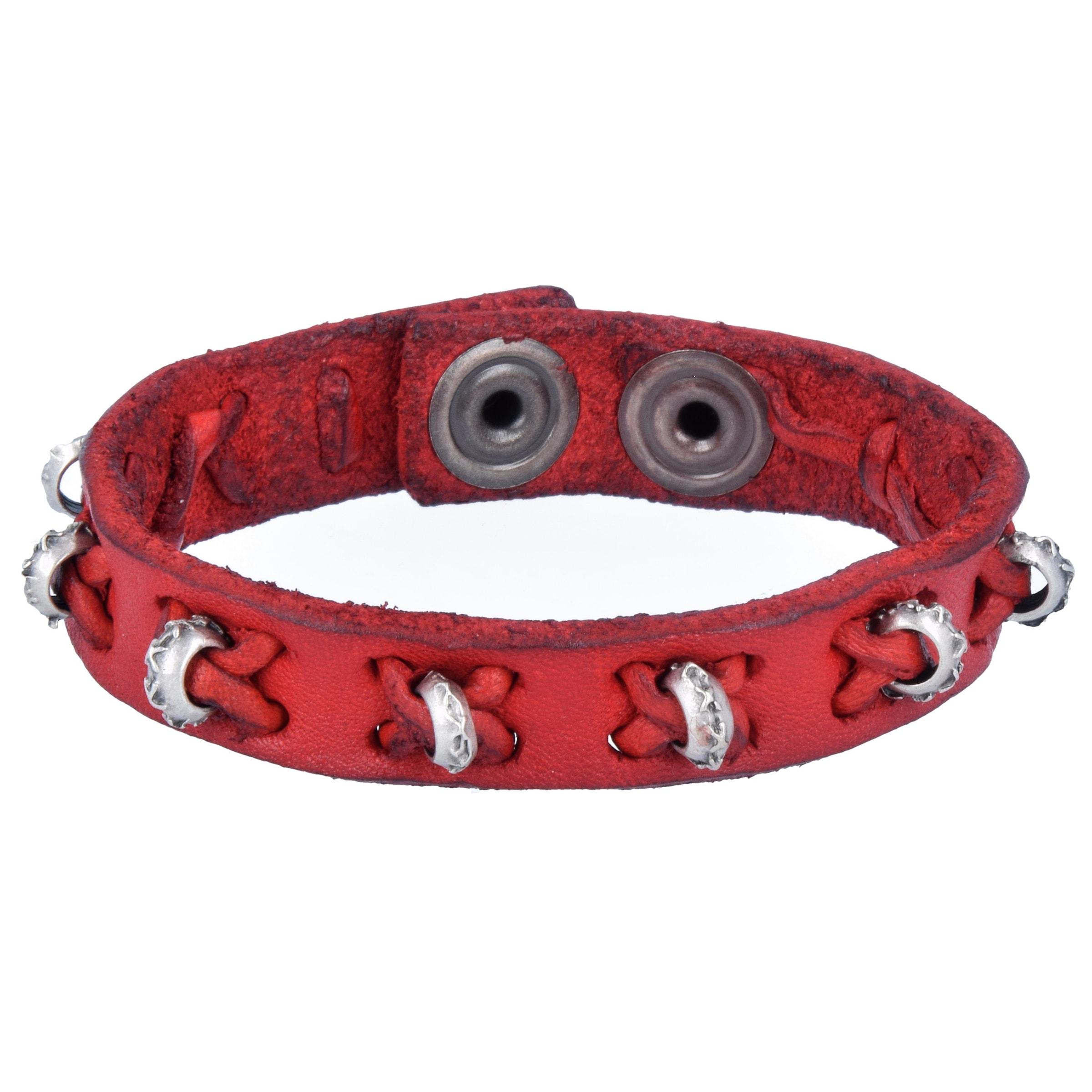 En Bracelet Bracelet RougeArgent En Campomaggi Campomaggi E9IDH2