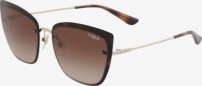 VOGUE Eyewear Lunettes de soleil '0VO4158S' en marron / or, Vue avec produit