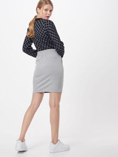 ICHI Spódnica 'KATE' w kolorze nakrapiany szarym: Widok od tyłu