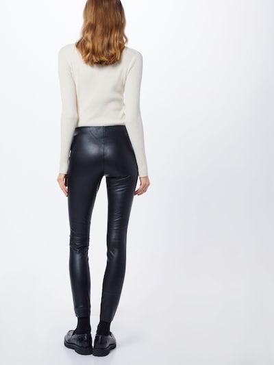 JACQUELINE de YONG Leggings in schwarz: Rückansicht