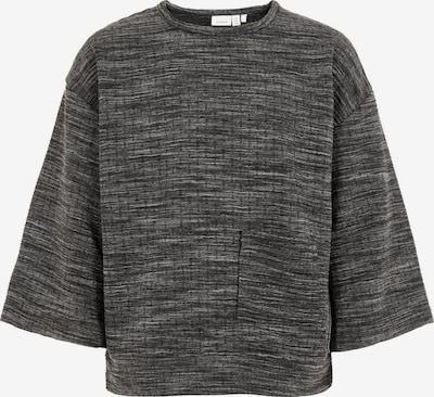 NAME IT Sweatshirt in graumeliert: Frontalansicht