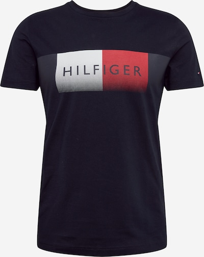 TOMMY HILFIGER T-Shirt 'Cool Fade' in navy, Produktansicht
