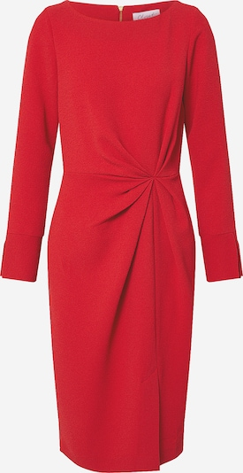 Closet London Robe 'Closet Pleated Front Pencil Dress' en rouge, Vue avec produit