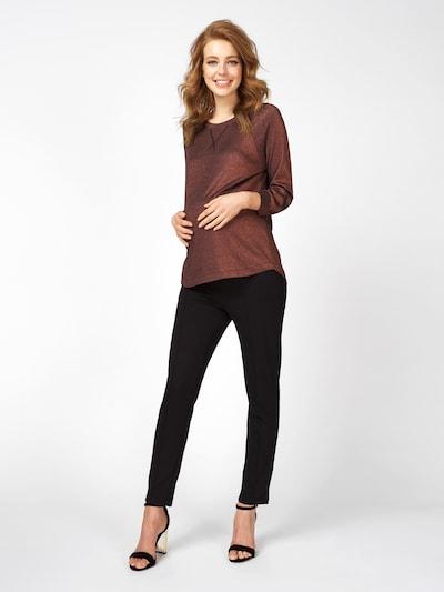 QUEEN MUM Sweatshirt in braun, Produktansicht