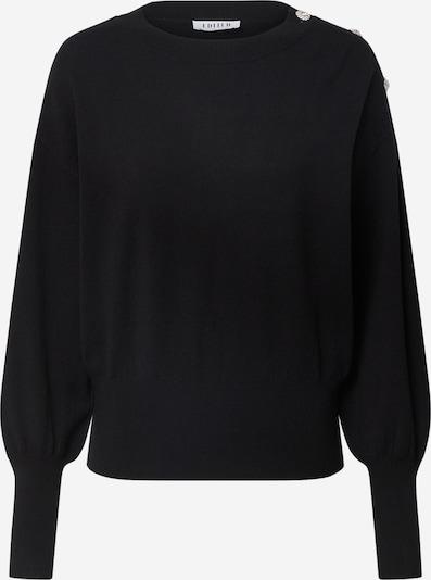 EDITED Pullover 'Lavinia' in schwarz, Produktansicht