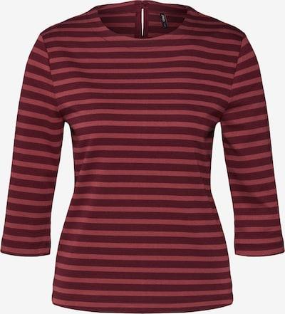 ONLY Majica 'AMANDA' | vinsko rdeča barva, Prikaz izdelka