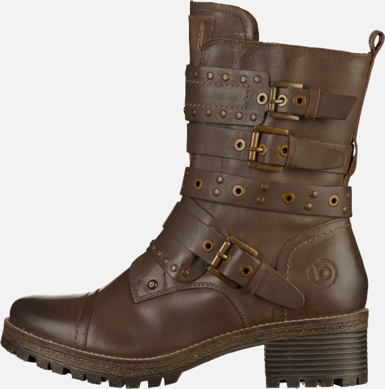 Bugatti Boots With Buckles