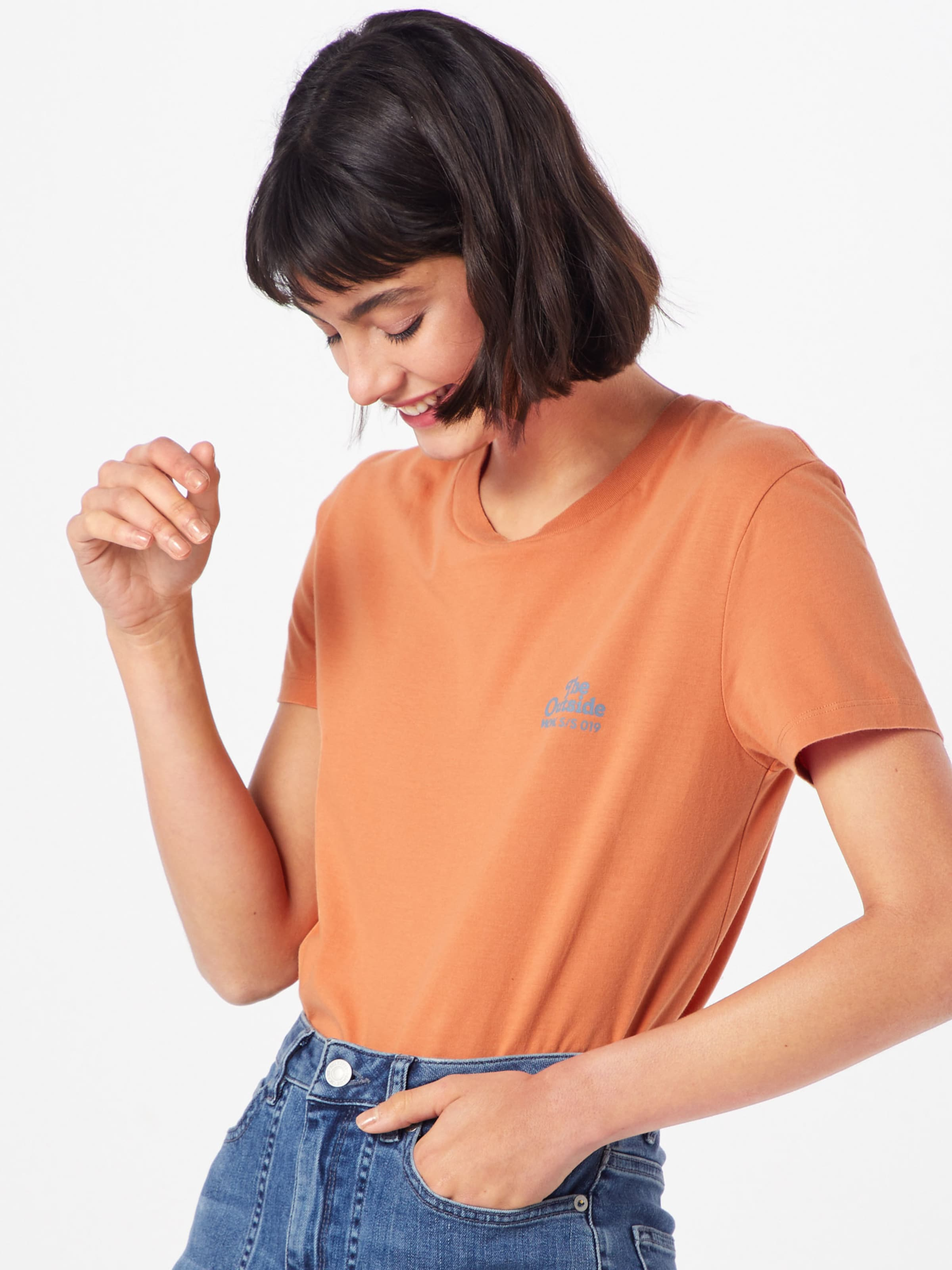 Orange In 'eden' 'eden' Wood Shirt Shirt 'eden' Wood Shirt Orange In Wood In wOmN0v8Pyn