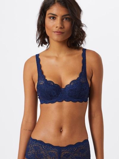 TRIUMPH BH 'Amourette' in de kleur Donkerblauw: Vooraanzicht