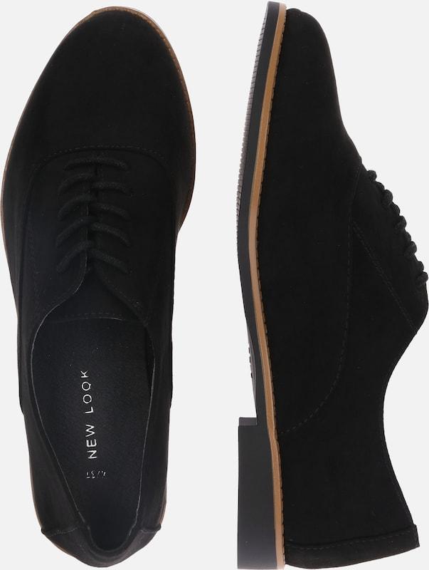 À Noir New 'kandie' En Look Lacets Chaussure fy6gb7