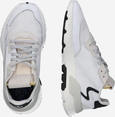 ADIDAS ORIGINALS Sneaker 'Nite Jogger' in champagner / weiß: Seitenansicht
