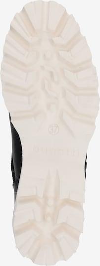 bugatti Stiefelette 'Magic' in schwarz: Ansicht von unten