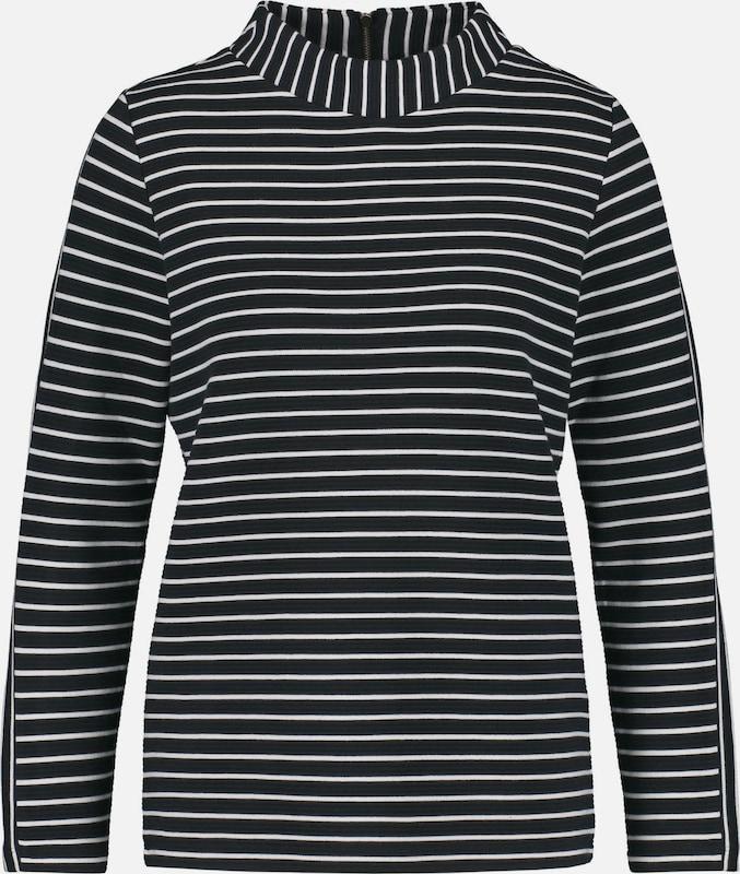 TAIFUN T-Shirt T-Shirt T-Shirt in kobaltblau   weiß  Großer Rabatt 6bdb92