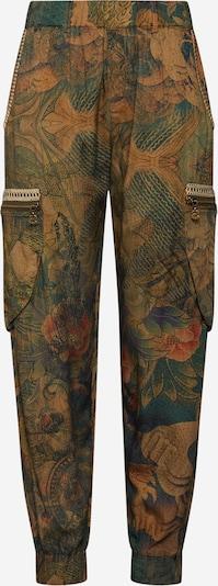 Desigual Háremové nohavice 'PANT_CORFU' - tmavozelená / zmiešané farby, Produkt