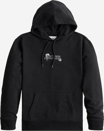 HOLLISTER Sweatshirt 'TONAL FLORAL TECH' in schwarz, Produktansicht