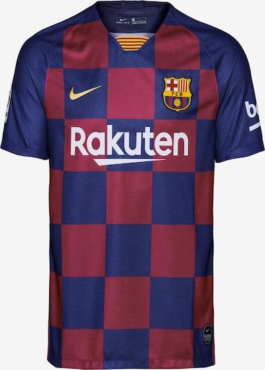 NIKE Fußballtrikot 'FC Barcelona 19/20 Heim' in nachtblau / blutrot, Produktansicht
