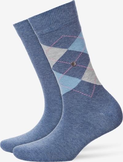 BURLINGTON Socken im Multipack in beige / blau, Produktansicht