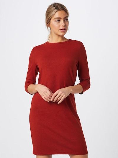 Sublevel Kleid in rostrot / orangerot, Modelansicht