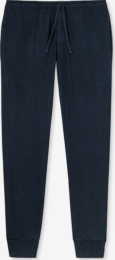 SCHIESSER Pyjamahose Lang Dark Blue in blau / dunkelblau, Produktansicht