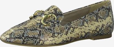 TAMARIS Slipper in grün / weiß, Produktansicht