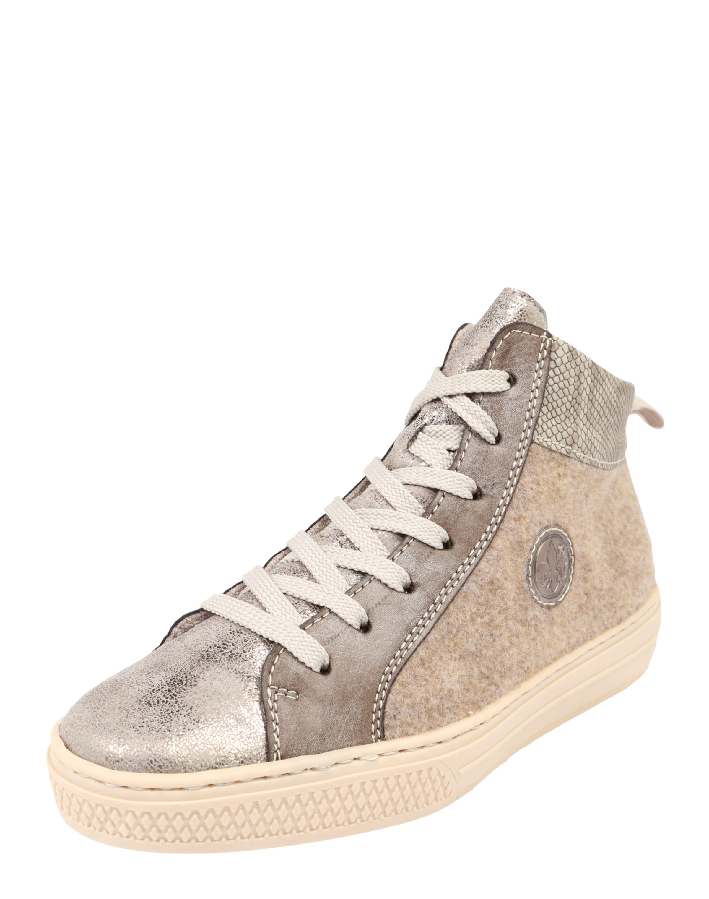 RIEKER Sneaker High mit Glitzerdetails