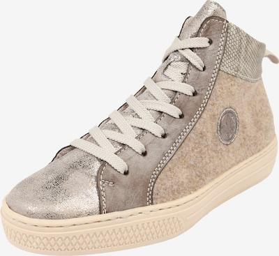RIEKER Sneaker in beige / greige, Produktansicht