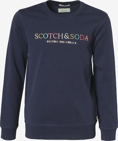 Scotch Shrunk Sweatshirt in blau, Produktansicht